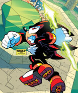 Chaos Spear in Archie Comics