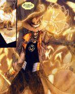 Scarecrow Yellow Lantern