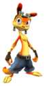 Daxter from Jak 3 render