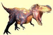 Black T-rex nagoya