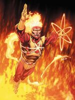 Firestorm flying