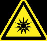 Optical Radiation Symbol