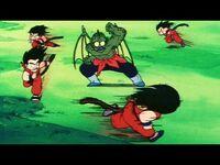 Completely Unforgivable!! Goku Obliterates Tambourine! -Japanese--2