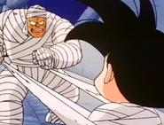 Kid goku bound in bandages3