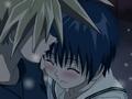 Koyuki and Ginta at the end of the anime