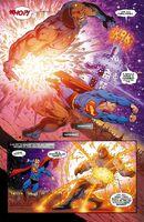 Superman vs Soulfire Darkseid