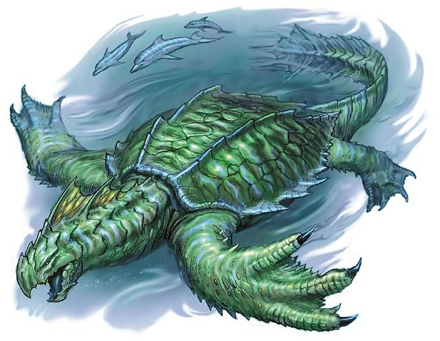 Dragon Turtle Physiology