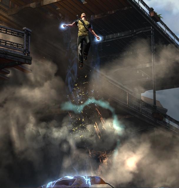 Electrically Enhanced Jump