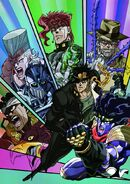 JoJo Stands and their Users