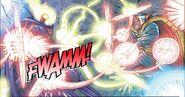 Magic Attacks by Dr.Strange And Dorammu