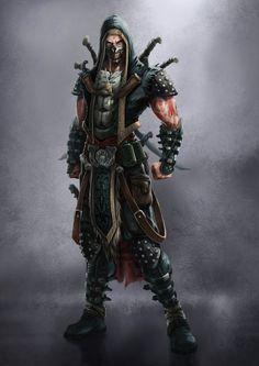 Cursed warrior 343/Order of Discordia Assassins