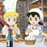 Shizuka cooking doraemon