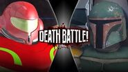 Boba Fett VS Samus Aran (Remastered) DEATH BATTLE!