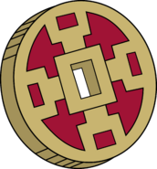 Mantis Flip Coin (Xiaolin Showdown)
