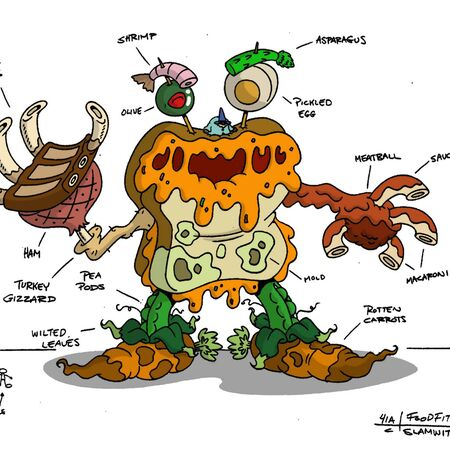 Food Monster Physiology