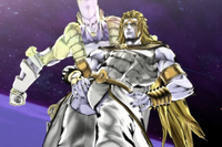 Heavenly DIO & The World Over Heaven (JoJo)