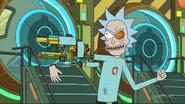 Rick's cybernetic arm