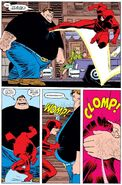 Blob vs Daredevil
