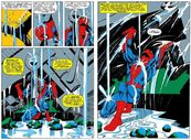 Spider-Man frees himself