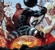 Absorbing man comic book