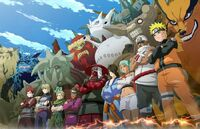 Jinchuriki & Tailed Beasts (Naruto) pose