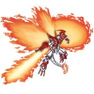 Shinegreymon burst mode