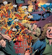 Kid Flash's Speedy Combat Beating