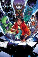Kei Kawade - Kid Kaiju (Marvel Comics) Monsters Unleashed Vol 3 1 R.B. Silva Variant Textless