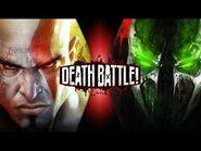 Kratos VS Spawn - DEATH BATTLE!