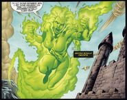 Beatriz da Costa Fire (DC Comics) fly2