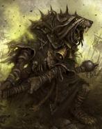 Plague Censer-bearer Skaven Pestilens