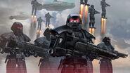 Dark Troopers Droids