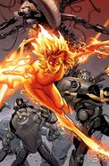 Magma - Amara Aquilla (Marvel) Fight