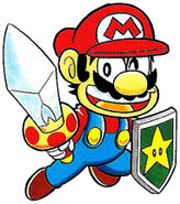 Mario and Kinoko Sword