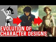 The Evolution of Anime Character Designs