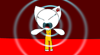 Mimmy girl use Scream Power