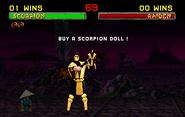 Scorpion doll