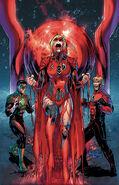 Supergirl Red Green Lantern Vol 5 28 Textless