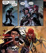 Lady Deathstrike head stab