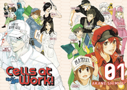 Cells at Work characters