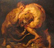 Nemean Lion Heracles