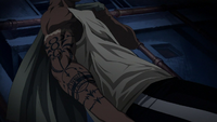 Scar (Fullmetal Alchemist) right tattooed arm