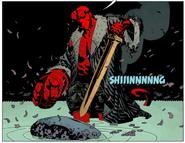 Hellboy Excalibur