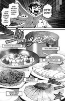 Kimihito Kurusu (Monster Musume) cooking
