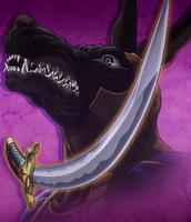 Anubis (JoJo) sword