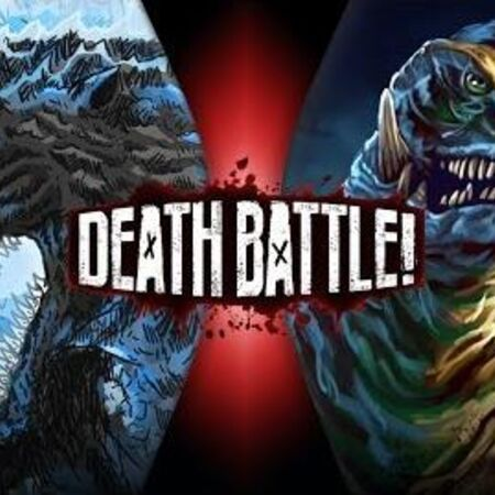 Godzilla VS Gamera DEATH BATTLE!