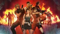 Resident Evil Peak Human Protagonists