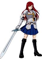 Erza Scarlet Heart Kreuz Armor
