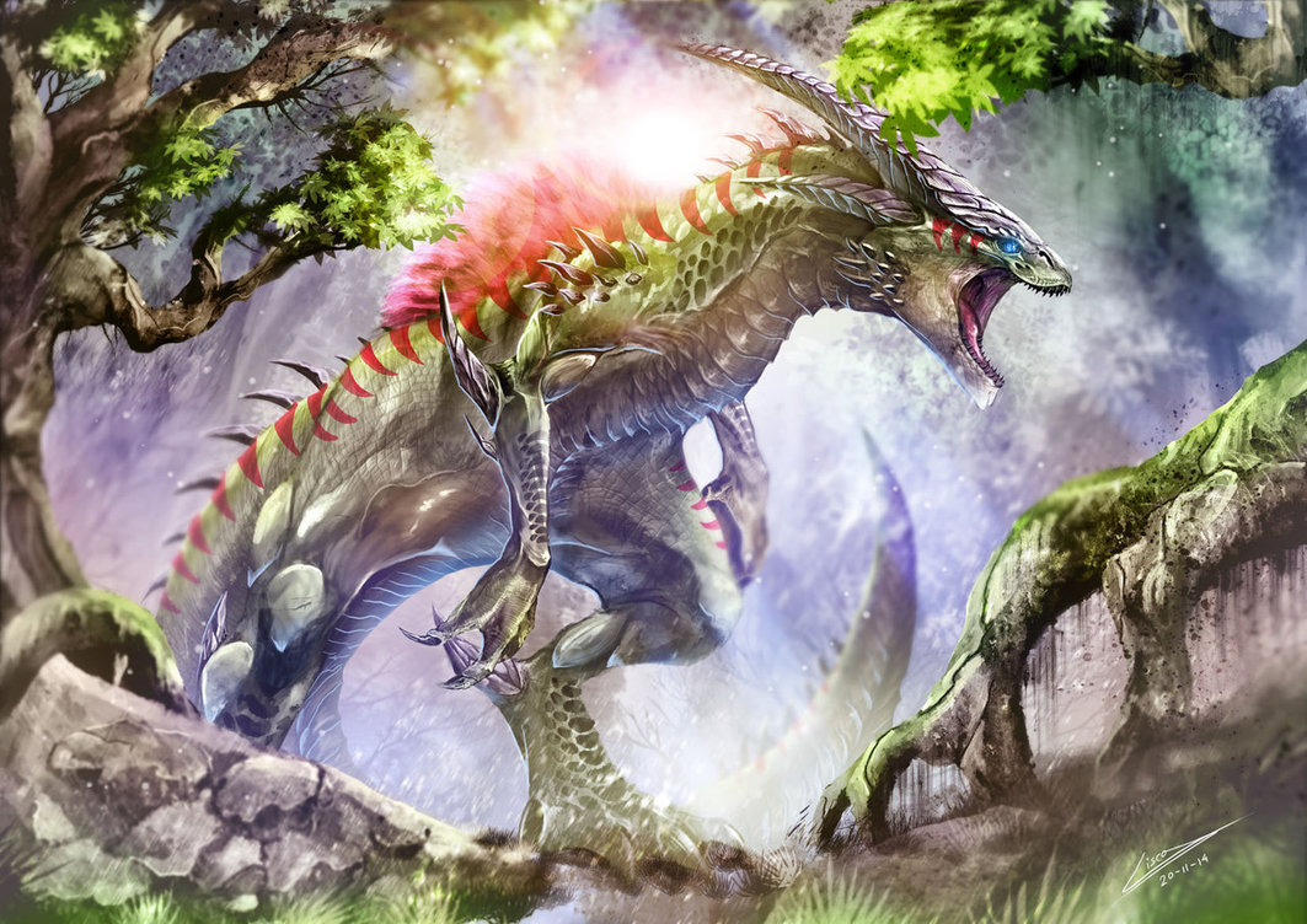 Dino-Dragon Physiology