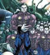 Collective Man (Marvel Comics) army